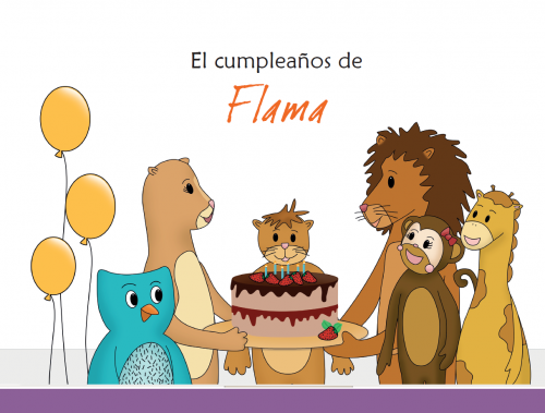 Imagen cuento el cumplaños de Flama