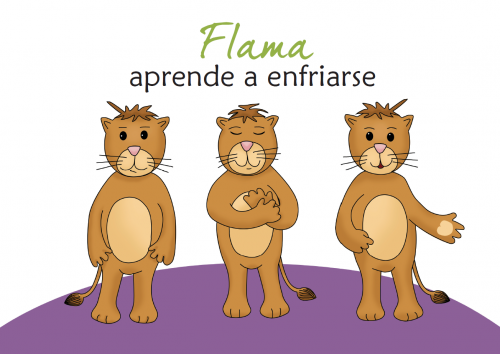 imagen libro flama aprende a enfriarse