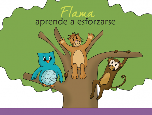 Imagen libro flama aprende a esforzarse