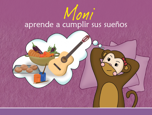 Imagen Cuento Moni aprende a cumplir sus sueños