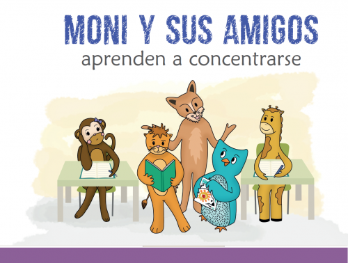 Imagen cuento Moni y sus amigos aprenden a concentrarse