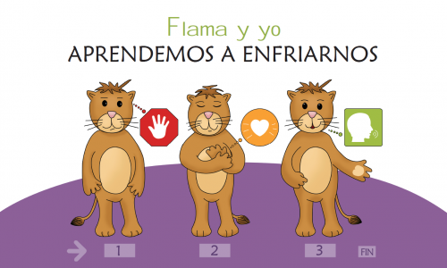 Imagen poster Flama y yo aprendemos a enfriarnos